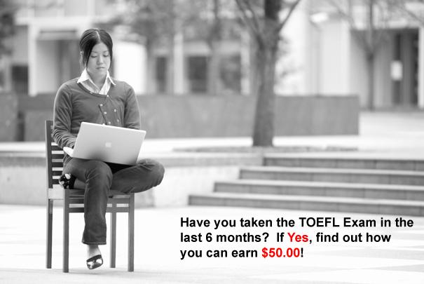 Earn $50.00 for Non-native English Language Study