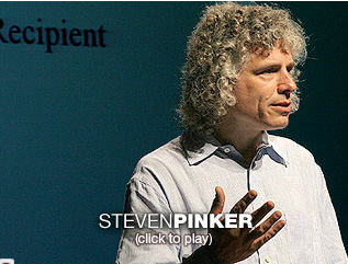 Videos: Steven Pinker On Language, Thought, and Human Nature