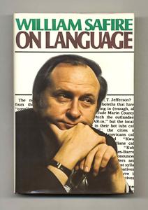 Revisiting William Safire's 'On Language'